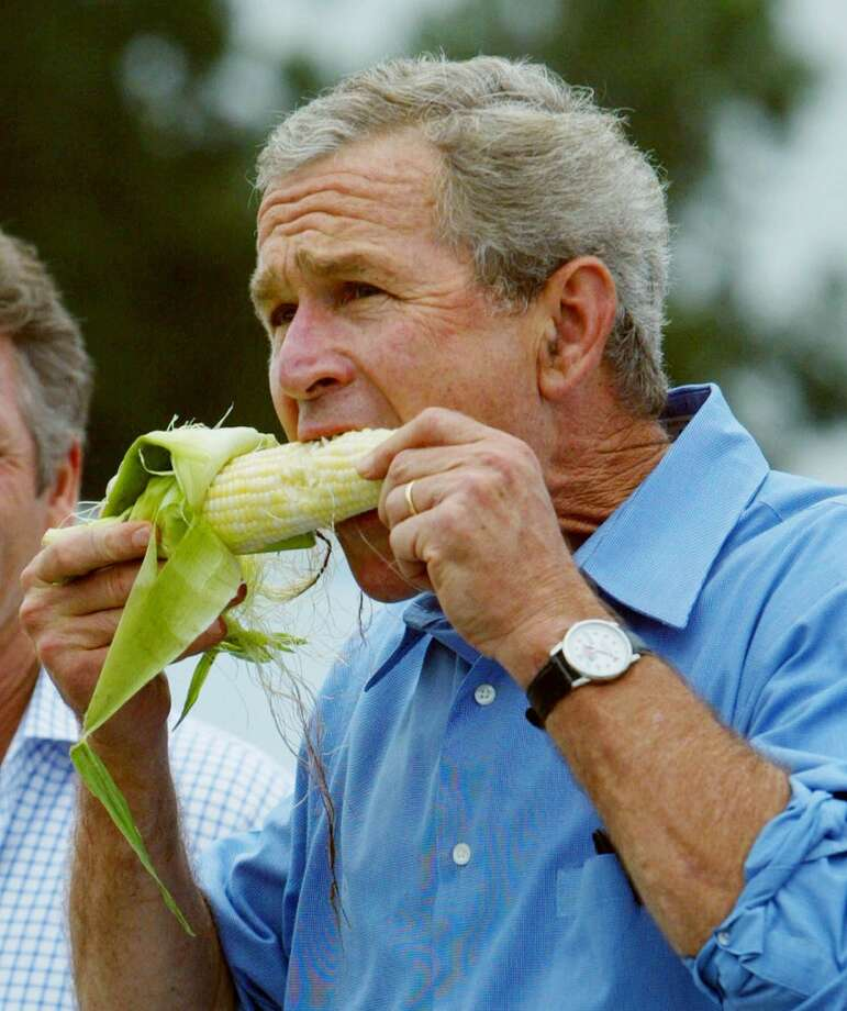 The most important rule, however, is to make sure to eat the sweet corn in Iowa...or the Chowder in Boston...or the cheese slice in New York. (AP) Photo: PABLO MARTINEZ MONSIVAIS, ASSOCIATED PRESS / AP2004