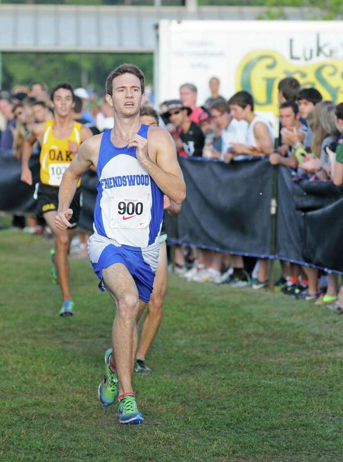 Ryan Teel added another Class 4A state title to his already distinguised running résumé. Photo: L. Scott Hainline