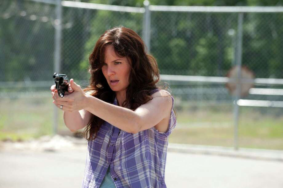 "Sarah Wayne Callies plays Lori Grimes on the ""The Walking Dead."" Photo: Gene Page, Associated Press / AMC"