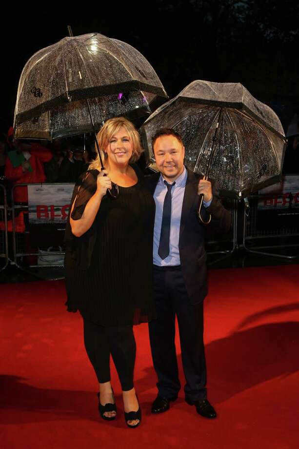 Actor Stephen Graham and Hannah Walters attend the premiere of 'Blood' during the 56th BFI London Film Festival at Odeon West End on Thursday in London.  (Photo by Tim Whitby/Getty Images for BFI) Photo: Tim Whitby, Ap/getty / 2012 Getty Images