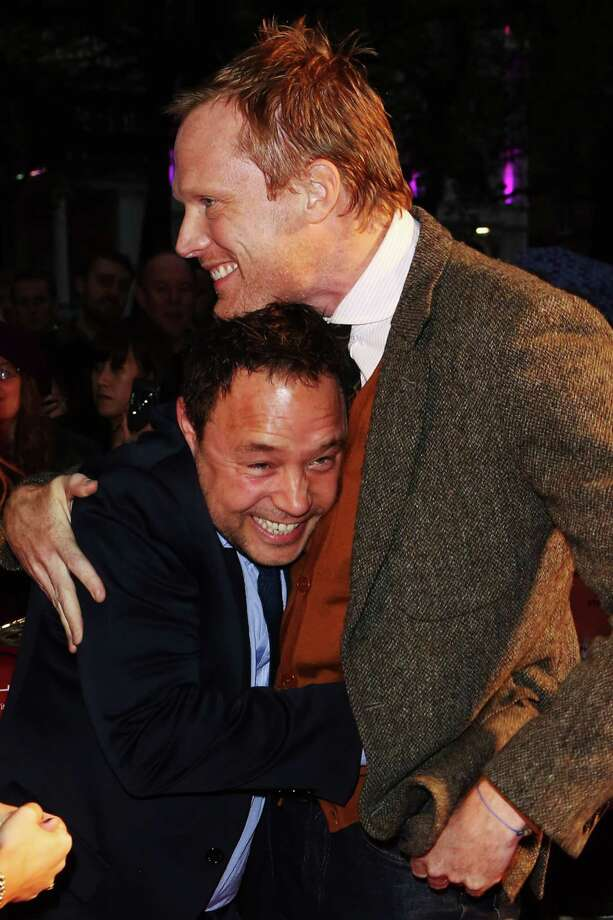Actors Stephen Graham and Paul Bettany attend the premiere of 'Blood' during the 56th BFI London Film Festival at Odeon West End on Thursday in London  (Photo by Tim Whitby/Getty Images for BFI) Photo: Tim Whitby, Ap/getty / 2012 Getty Images