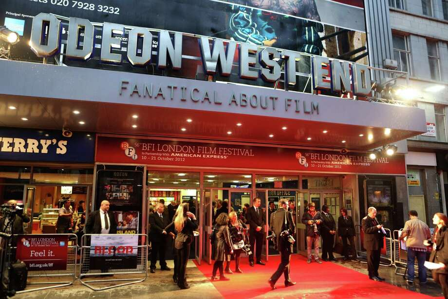 A general view of atmosphere at the premiere of 'Blood' during the 56th BFI London Film Festival at Odeon West End on Thursday in London.  (Photo by Tim Whitby/Getty Images for BFI) Photo: Tim Whitby, Ap/getty / 2012 Getty Images