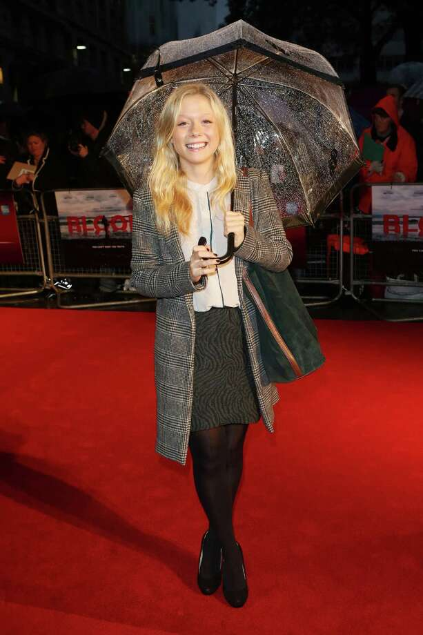 Actress Naomi Battrick  attends the premiere of 'Blood' during the 56th BFI London Film Festival at Odeon West End on Thursday in London.  (Photo by Tim Whitby/Getty Images for BFI) Photo: Tim Whitby, Ap/getty / 2012 Getty Images