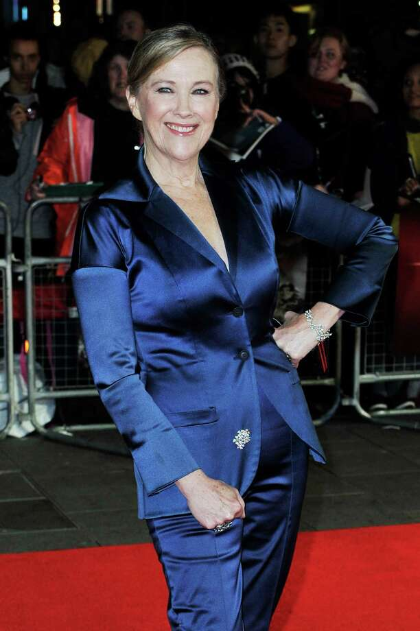Actress Catherine O'Hara attends the opening night film of the 56th BFI London Film Festival 'Frankenweenie 3D' at Odeon Leicester Square on Wednesday in London.  (Photo by Gareth Cattermole/Getty Images for BFI) Photo: Gareth Cattermole, Ap/getty / 2012 Getty Images