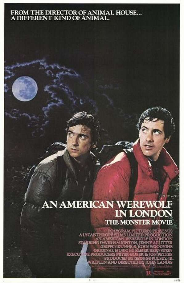 "16. ""An American Werewolf in London"" (1981): Best werewolf movie. The sounds of tearing flesh during the monster transformation left many viewers unglued, but the movie was scary and funny (and sexy) in equal doses."