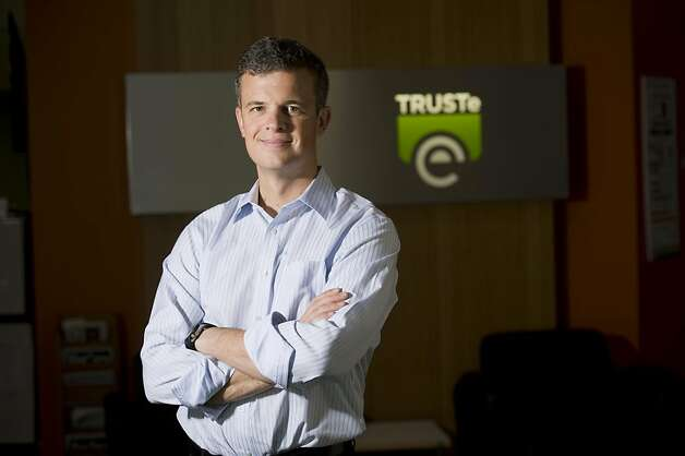 Chris Babel, CEO of TRUSTe, says consumers must be cautious with social networking. Photo: Susana Bates, Special To The Chronicle