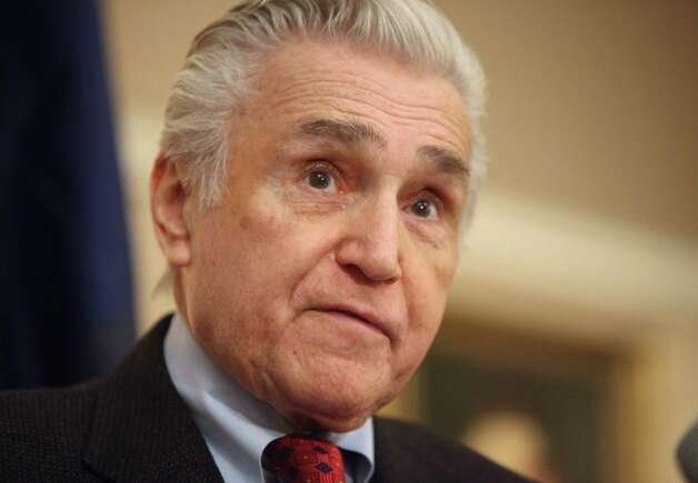 Congressman Maurice Hinchey (D-NY) 22nd Congressional District, announced in Kingston, N.Y. Thursday Jan. 19, 2012, that he will not seek reelection and will leave congress at the end of his term on Jan. 3, 2013. (Jeff Goulding / Times Herald-Record) Photo: Jeff Goulding