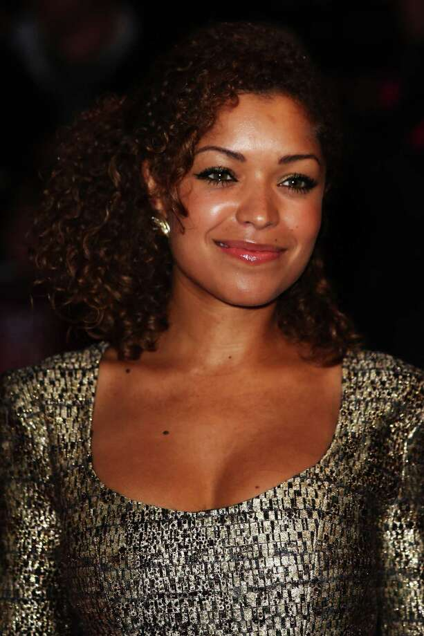 Antonia Thomas attends the premiere of 'Spike Island' during the 56th BFI London Film Festival at Odeon West End on Thursday in London. Photo: Tim Whitby, Getty / 2012 Getty Images