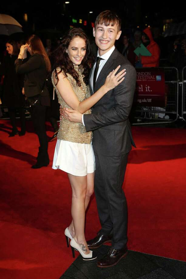 Actress Kaya Scodelario and actor  Elliott Tittensor attend the premiere of 'Spike Island' during the 56th BFI London Film Festival at Odeon West End on Thursday in London. Photo: Tim Whitby, Getty / 2012 Getty Images