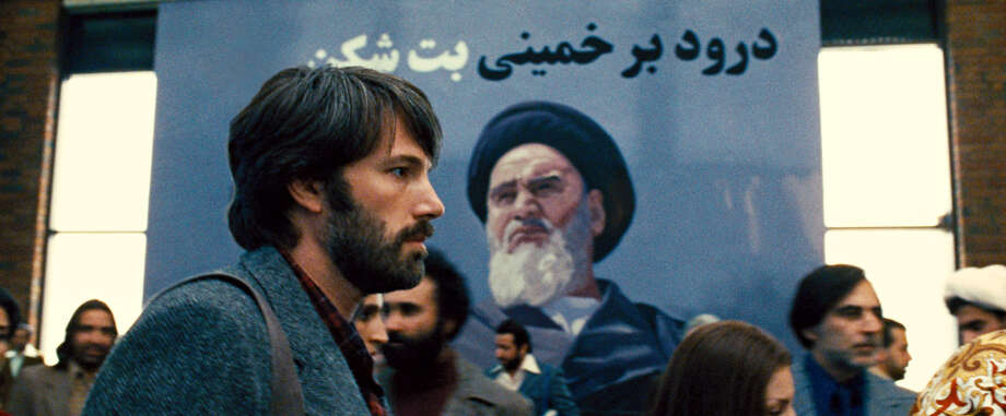 "This film image released by Warner Bros. Pictures shows Ben Affleck as Tony Mendez in ""Argo, "" a rescue thriller about the 1979 Iranian hostage crisis. Photo: Warner Bros."