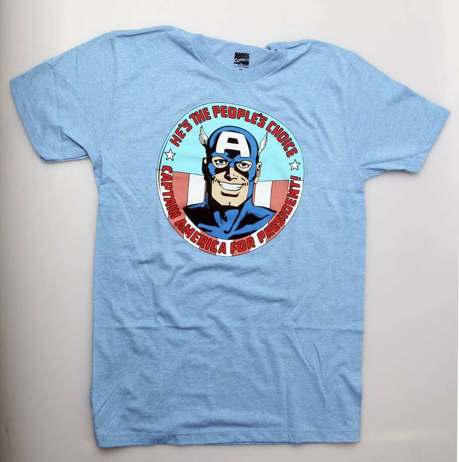 Captain American for President- $20.50 at Hot Topic. He is technically captain of the country. Might as well promote him to commander-in-chief. (Juanito M. Garza) Photo: JUANITO M GARZA / San Antonio Express-News