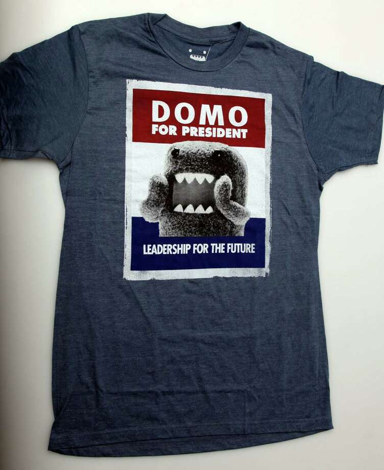 Domo for President - $9.99 from Target. This saw-toothed little character from Japan loves television  - the perfect candidate for our screen-gawking culture. (Juanito M. Garza)  Photo: JUANITO M GARZA / San Antonio Express-News