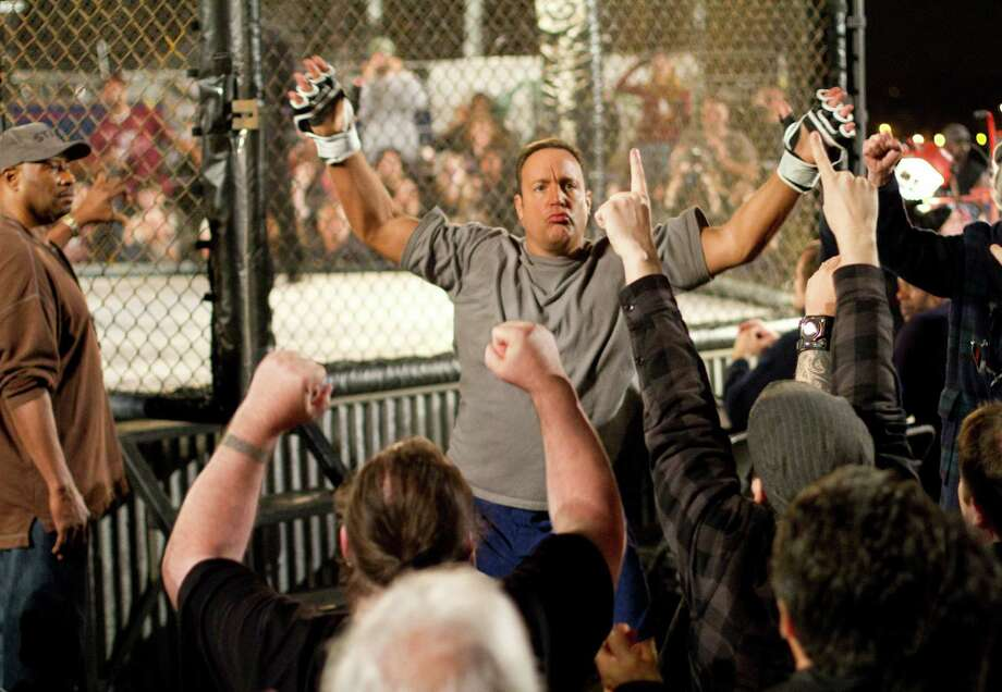 """Scott (Kevin James) starts cage fighting to save a high school music program in """"Here Comes the Boom."""" Photo: Tracy Bennett / © 2012 CTMG, Inc. All Rights Reserved.  **ALL IMAGES ARE PROPERTY OF SONY PICTURES ENTERTAINMENT INC. FOR PROMOTIONAL USE ONLY."""
