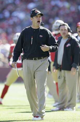49ers' success cramps Harbaugh's style