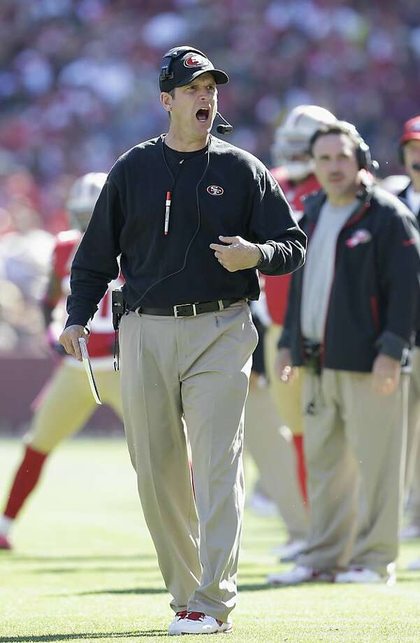 The possibility that the 49ers' success might breed comfort cramps coach Jim Harbaugh's style. Photo: Tony Avelar, Associated Press