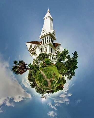 Artist's 'Little Planets' reimagine Houston, Galveston - Houston