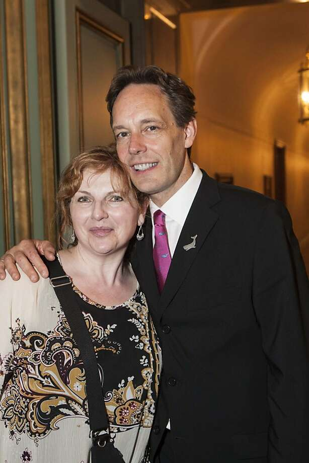 Soprano Lisa Delan with Jake Heggie. Photo: Drew Altizer Photography