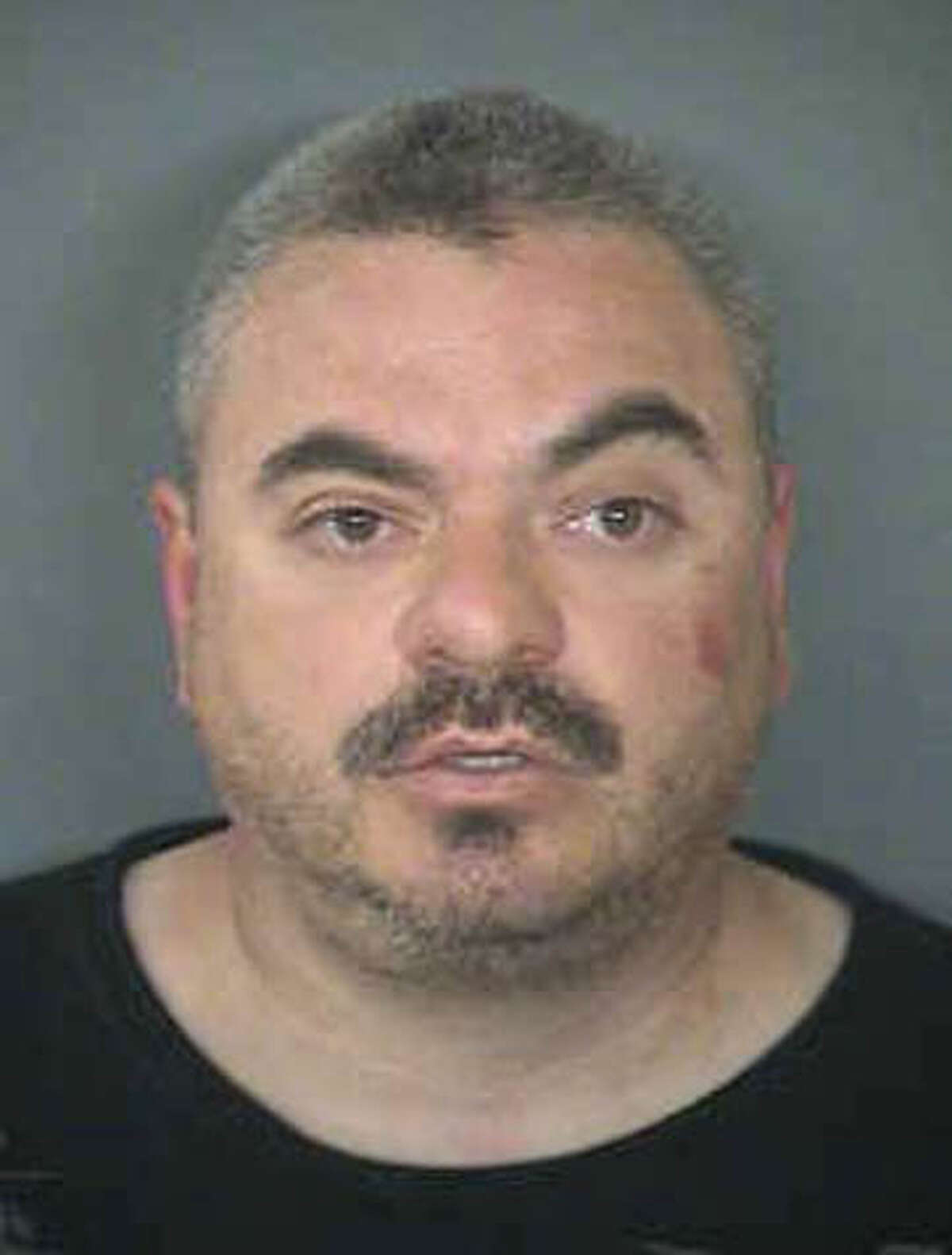 Mark Anthony Gonzales, 41, the suspect in the capital murder case of Bexar County Sheriff's Sgt. Kenneth Vann