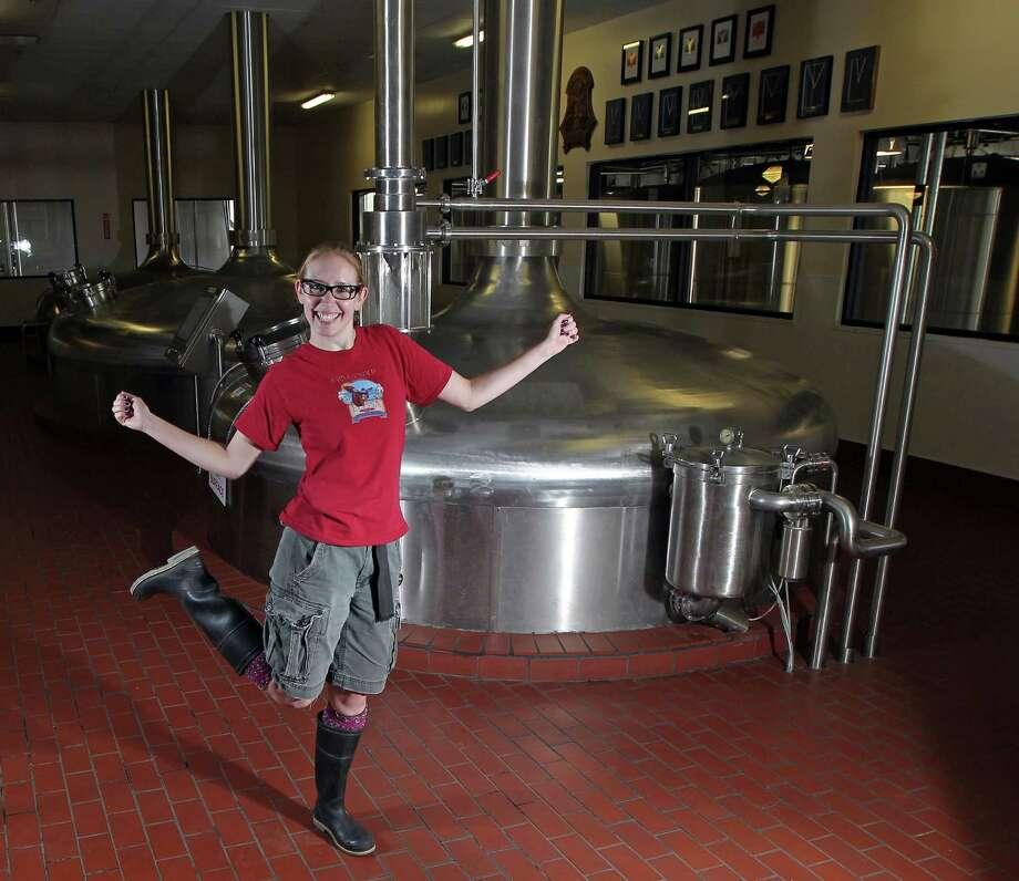 Saint Arnold Brewing Company brews beer unique to the city. Saint Arnold Brewing Company2000 Lyons AvenueHouston, TX 77020 Photo: James Nielsen / © Houston Chronicle 2012