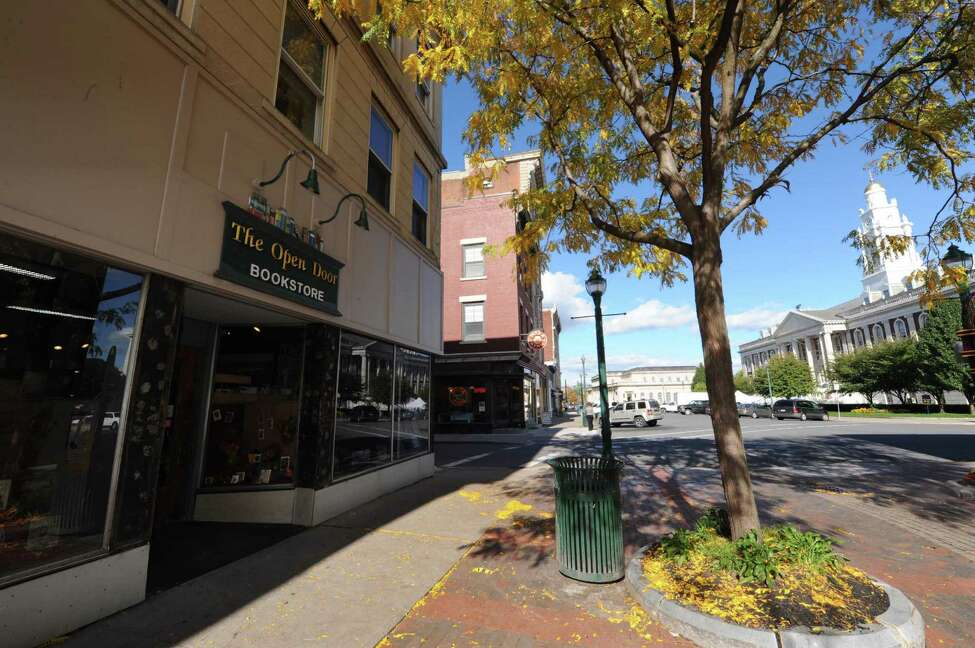 The Open Door Bookstore on Jay Street in Schenectady, NY Thursday Oct. 11, 2012. (Michael P. Farrell/Times Union)