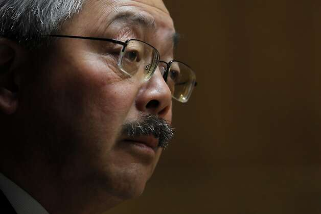 Mayor Ed Lee may have suffered a setback in his attempt to govern by cooperation and consensus. Photo: Carlos Avila Gonzalez, The Chronicle
