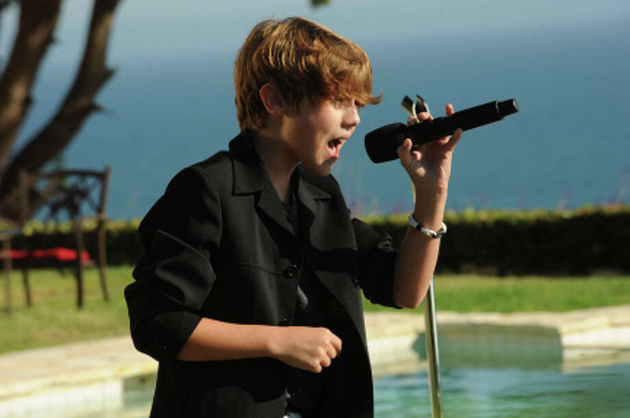 THE X FACTOR: JUDGES HOUSE: Contestant Reed Deming performs in front of Britney Spears and Guest Mentor will.i.am on THE X FACTOR airing Thursday Oct. 11 (8:00-10:00 PM ET/PT) on FOX. CR: Ray Mickshaw / FOX. (                                                      )