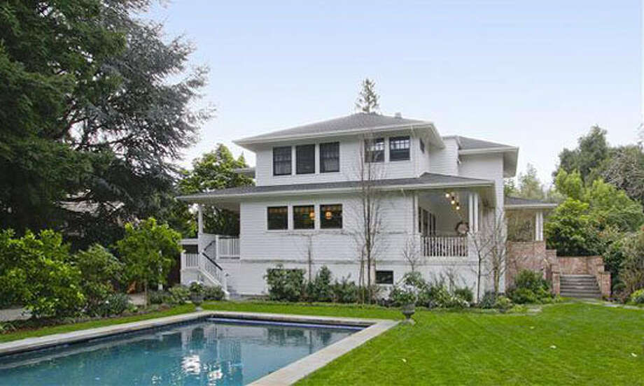 Mark Zuckerberg paid $7 million for his Palo Alto home.  Median home price hovers around $1.225 million. (Alain Pinel Realtors)