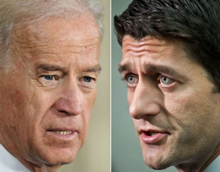 Joe Biden and Paul Ryan.