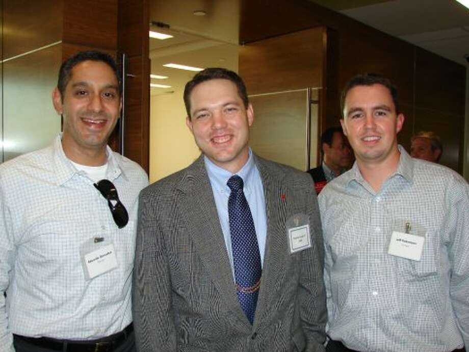 Eduardo Gonzales (Prologis), Rob Burlingame (CBRE) and Jeff Folkman (Prologis).
