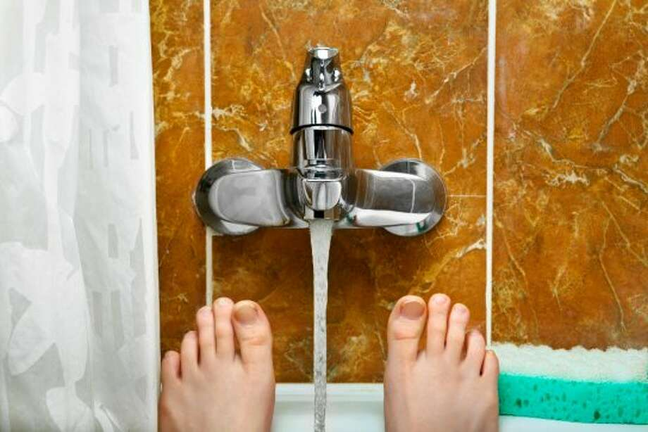 Employee's toe was stuck in a faucet. (tarasov_vl - Fotolia)