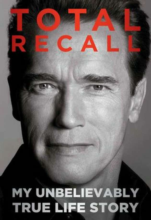 """Totall Recall"""" by Arnold Schwarzenegger; $35 Product Details Hardcover: 656 pages Publisher: Simon & Schuster; First Edition edition (October 1, 2012) Language: English ISBN-10: 1451662432 ISBN-13: 978-1451662436 Photo: Xx"""