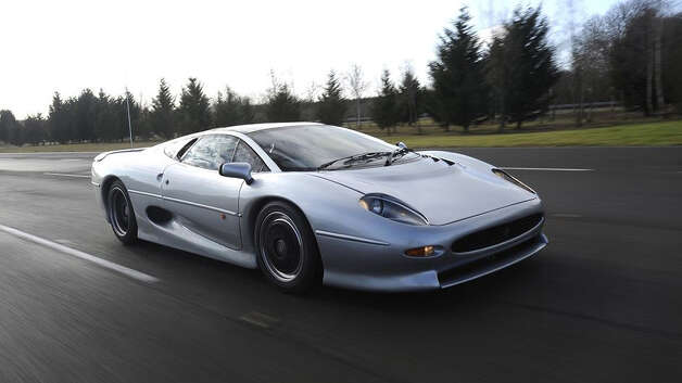 Jaguar XJ220: 217 mph, 0-60 in 3.8 secs.The Jag, produced in 1992 is the oldest of the bunch but still holds its own.Flickr.com/jaguarcarsmena