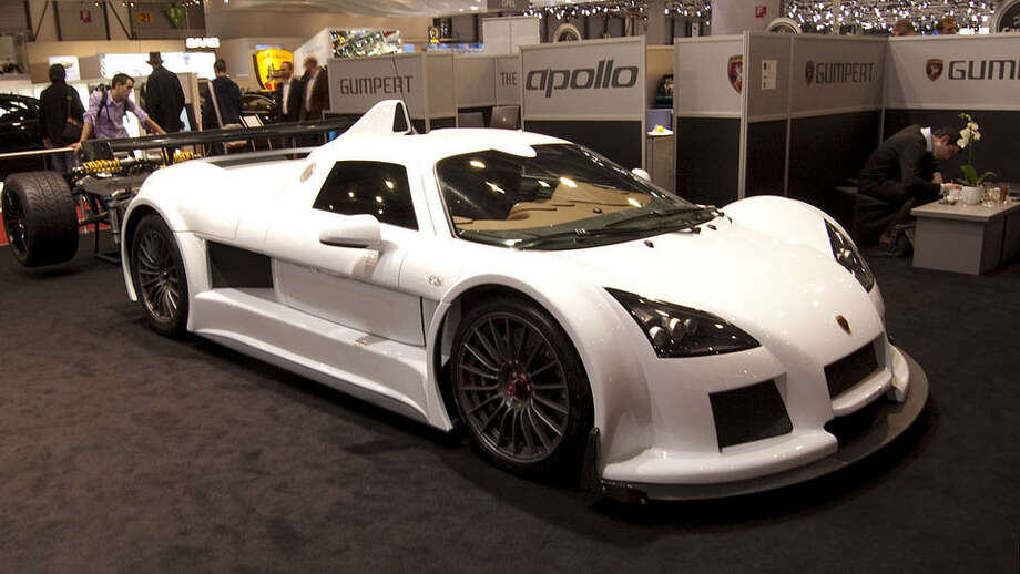 Gumpert Apollo: 225 mph, 0-60 in 3.0 secs.Photo: Flickr.com/David Villarreal Fernández Photo: Flickr.com