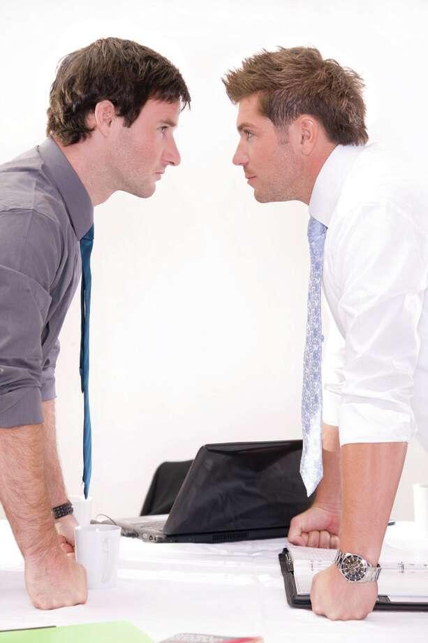 How to communicate in the face of conflict. (Fotolia.com) Photo: Richard Bouda / Roman Sluka - Fotolia