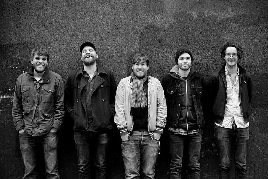 Frightened Rabbit Photo: Gordon Burniston