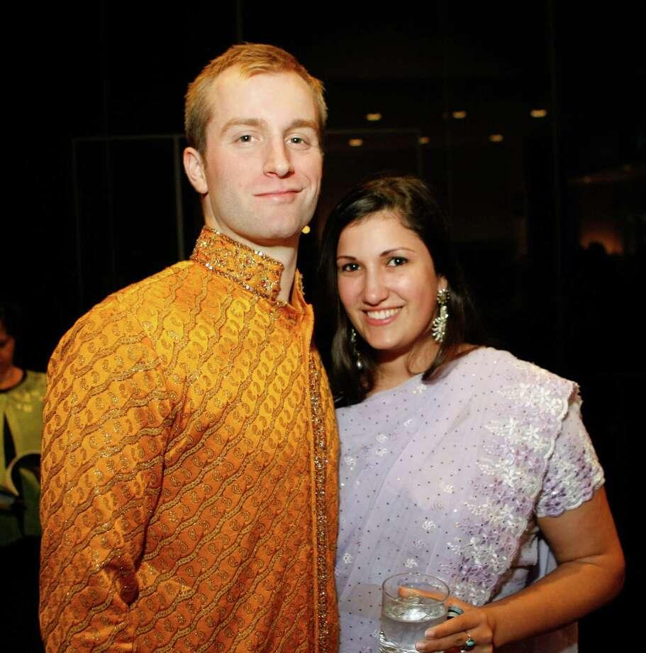 John Ruff, left, and Catherine Ruff Photo: Nick De La Torre / © 2012  Houston Chronicle