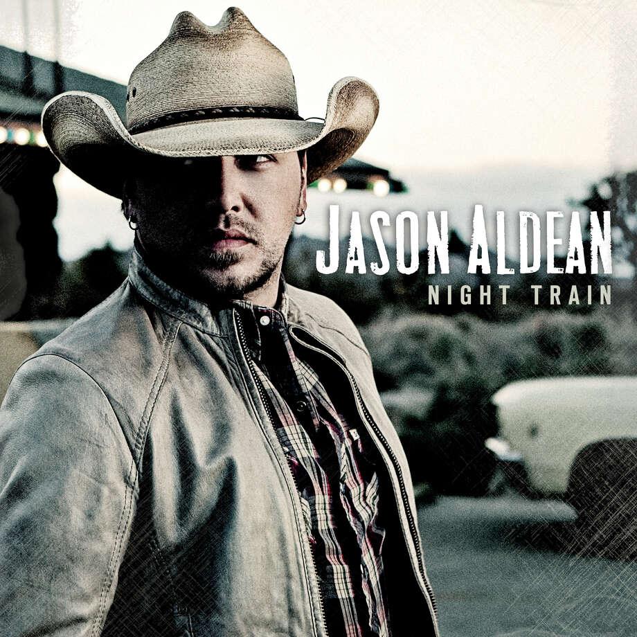 """Jason Aldean """"Night Train"""" album cover. Photo: Cd Cover"""