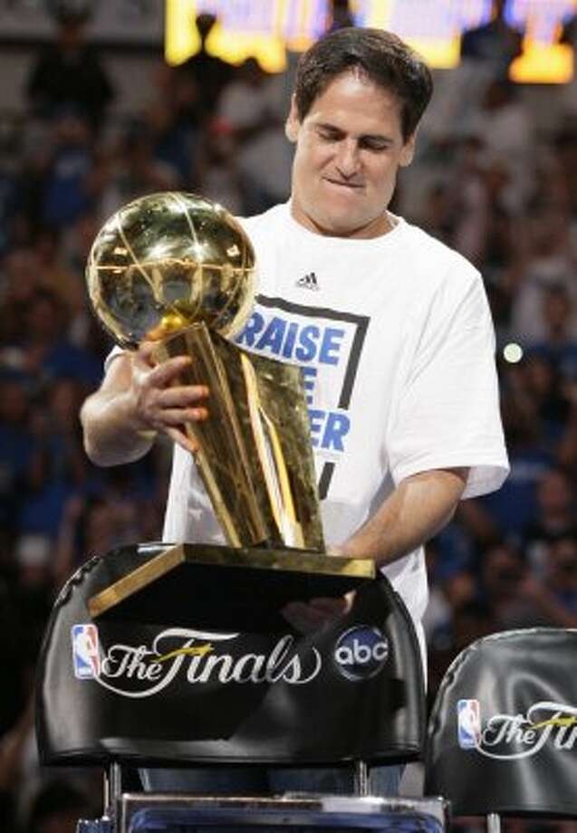 Mark Cuban -- Even gives his fellows one-percenters a bad name. He's less popular in Houston than the other Cuban, Fidel. (Tony Gutierrez / Associated Press)