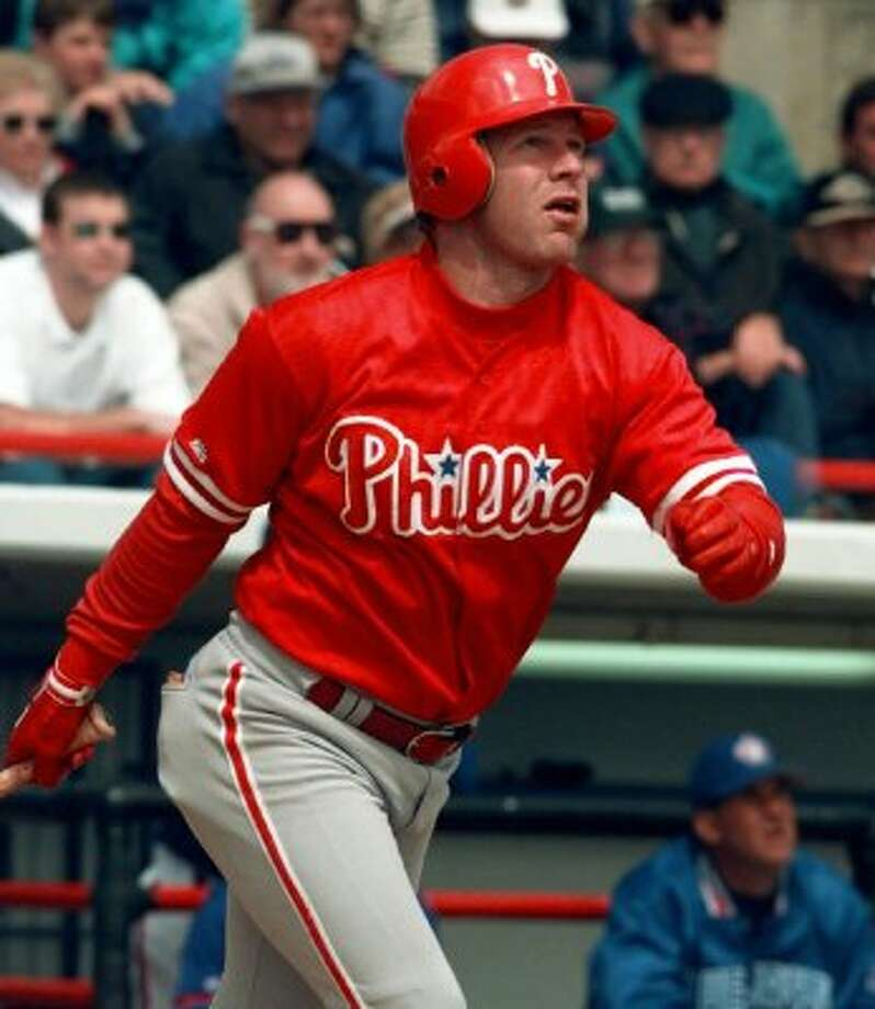 Lenny Dykstra -- The little hustler – both types, by the way – has been stealing for years. His game-winning two-run homer in the bottom of the ninth against off Dave Smith pilfered a victory for the Mets in Game 4 of the 1986 NLCS.   (Pat Sullivan / Associated Press)