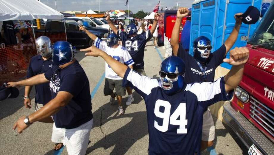 "Bill Lamza -- ""Cowboy"" is the worst kind of Cowboys fan, which is saying something.  (Brett Coomer / Houston Chronicle)"
