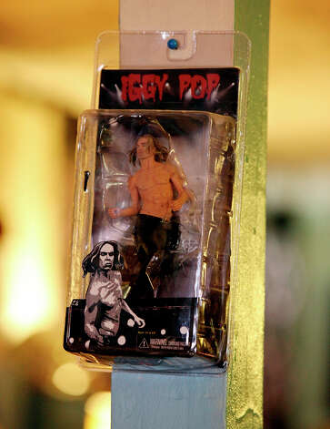 An Iggy Pop action figure. Photo: Edward A. Ornelas, San Antonio Express-News / © 2012 San Antonio Express-News