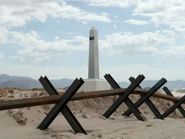 "Border monument 22 is part of New Mexico photographer David Taylor's ""Working the Line"" project,  featured in the ""Alien Contexts"" exhibition at UTSA. Photo: Courtesy, David Taylor"