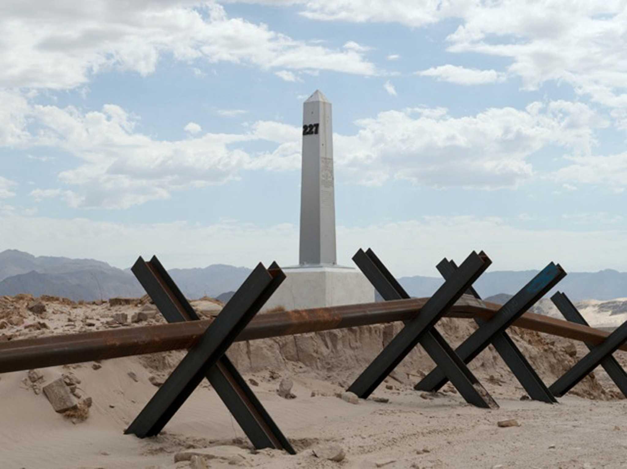 Little Known Monuments Haunt U S Mexico Border San