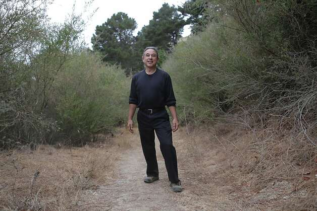On September 29, 2012 in Richmond, Calif. Dr. Jeff Ritterman walks along the trails of Nichole Nob Hill over looking Richmond and the East Bay. He regularly hikes and tries to keep active. Dr. Jeff Ritterman is a city councilman and retired Richmond cardiologist. He is currently spearheading Richmond's controversial soda tax on the November ballot. Photo: Rashad Sisemore, The Chronicle