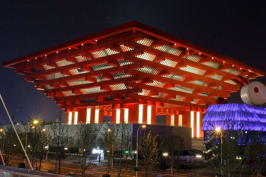 The massive China Pavilion from the 2010 World Expo in Shanghai has reopened as the China Art Museum, one of two new museums in the city. It offers nearly 689,000 square feet of exhibition space, while a former power station for the expo has also been converted into a museum of contemporary art. Photo: Suzuki