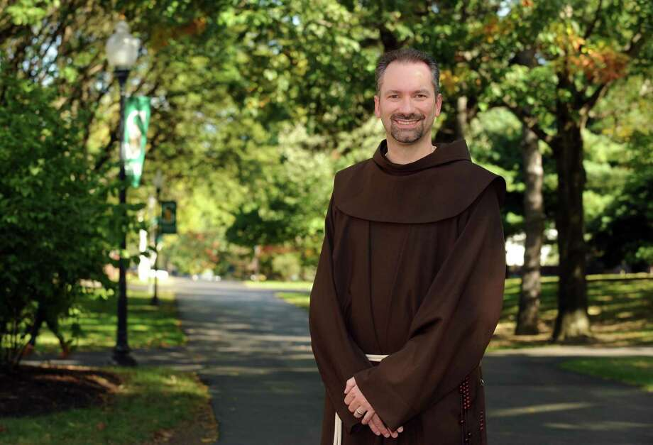 Friar Russell Murray at Siena College in Loudonville, NY Tuesday Sept. 25, 2012. (Michael P. Farrell/Times Union) Photo: Michael P. Farrell