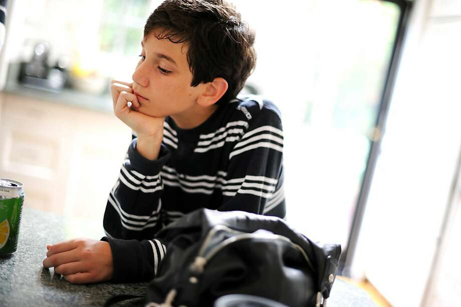 Officials relented after ordering Colman Chadam to change schools. They feared that a gene could put schoolmates with cystic fibrosis at risk. Photo: Michael Short, Special To The Chronicle
