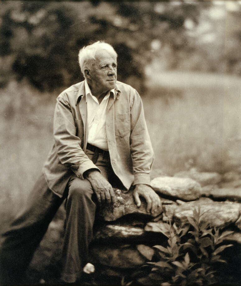 Poet Robert Frost taught English at New Hampshire's Pinkerton Academy for several years. Photo: Clara Sipprell Gelatin / National Portrait Gallery