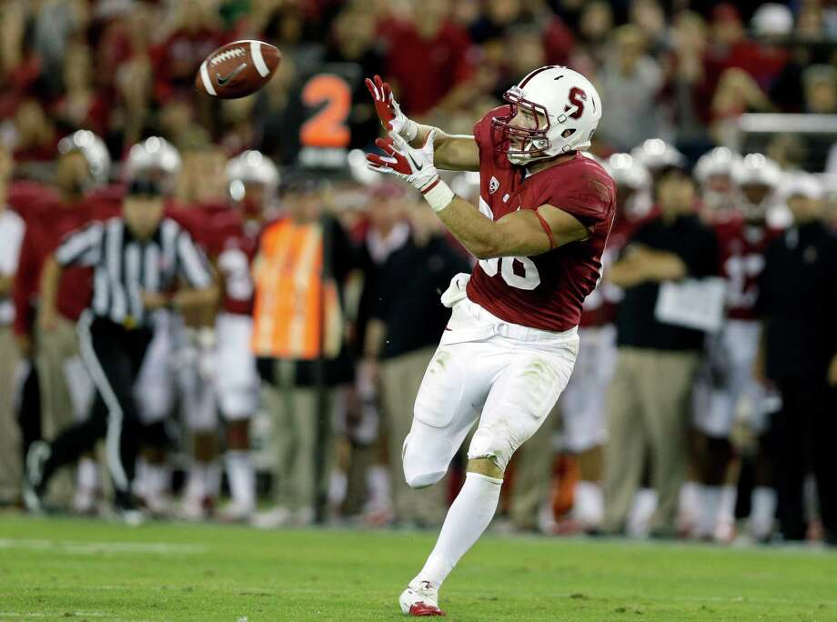 Stanford TE Zach Ertz Photo: Marcio Jose Sanchez / AP