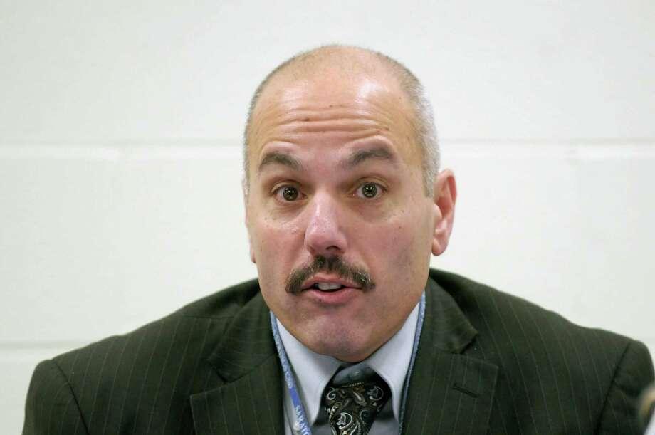 Michael Piccirillo, Saratoga Springs School District superintendent, will retire at the end of the year. (Paul Buckowski / Times Union archive) Photo: Paul Buckowski / 10016003A